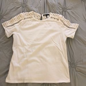 Maje Cotton Embroidered Top